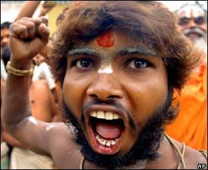 sadhu violence